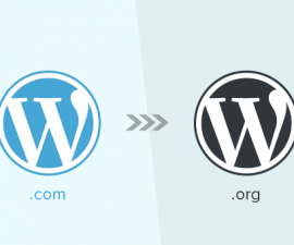 WordPress.com à WordPress.org