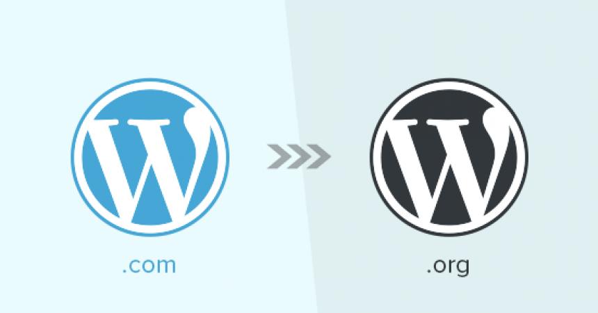 WordPress.com à WordPress.org